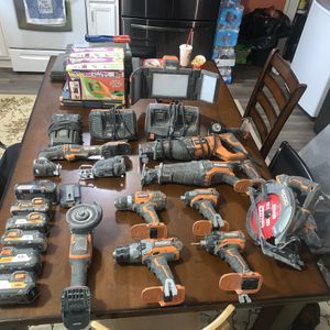 Ridged Power Tools for Sale in Valley City, OH