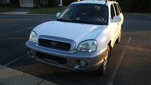 2002 Hyundai Santa Fe 4WD. 1 owner for Sale in Fredericksburg, VA