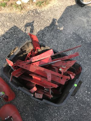Box of used roof jacks for Sale in Bear Lake, MI
