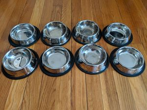 Stainless steel pet bowl for dog/cat (8oz) for Sale in Colesville, MD