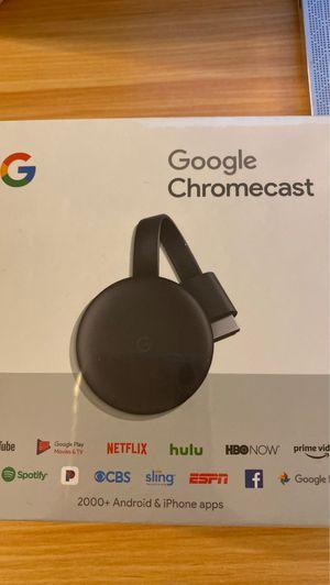 Google chromecast 100%new for Sale in West Springfield, VA