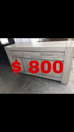 Beautiful new Brownstone Messina gray-wash Sideboard only 800$!!! Original price 2,300$!!! Sale price 1,610$!!! for Sale in San Leandro, CA