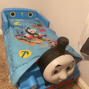 Thomas The Train Toddler Bed And Mattress for Sale in Signal Hill, CA