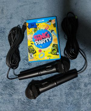 Nintendo Wii U Sing Party bundle for Sale in Holiday, FL