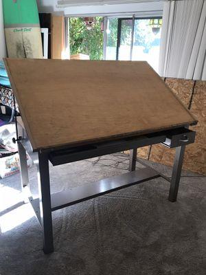 Sturdy Metal base drafting table for Sale in Walnut Creek, CA