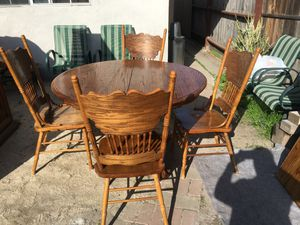 Table with 4 chairs for Sale in Huntington Beach, CA