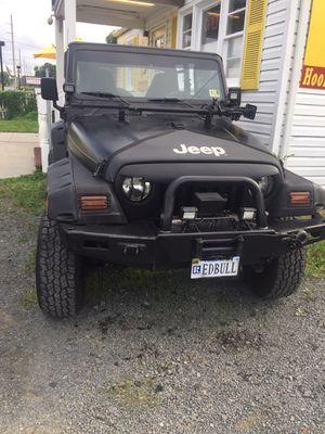 1997 Jeep Wrangler sport 4.0 for Sale in Manassas, VA
