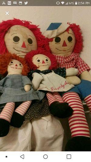 Raggedy Ann dolls for Sale in Sanford, FL