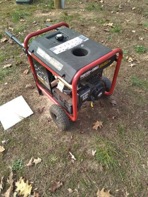 Porter cable 5500 watt generator for Sale in Powhatan, VA