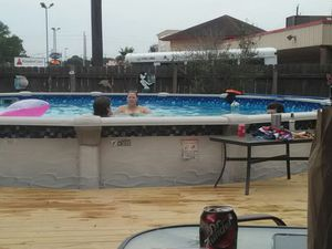 Above Ground Pools and deck out door kitchens for Sale in Humble, TX