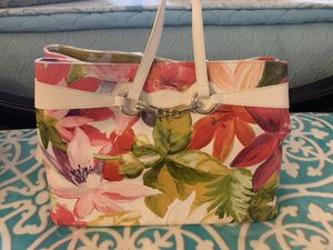All leather Italian made flower bag for Sale in Plantation, FL