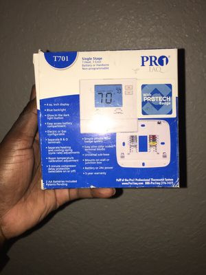 Pro1 Thermostat T701 with Protech Badge for Sale in Fort Lauderdale, FL