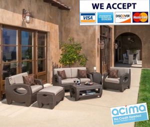 Patio furniture set sunbrella for Sale in Riverside, CA