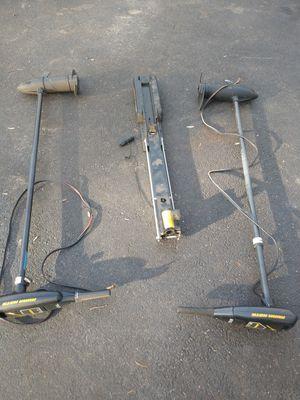 """2 Minn Kota trolling motors. 55# / 52"""" shaft for Sale in Owings, MD"""