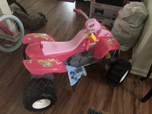 Barbie 4 wheeler gently used just needs battery!! 60.00!! for Sale in Lynchburg, VA