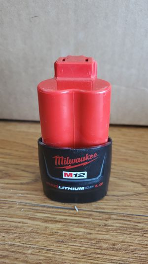 Milwaukee m12 cp1.5 for Sale in Victorville, CA