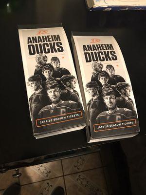 Anaheim Ducks vs Colorado avalanche for Sale in Garden Grove, CA