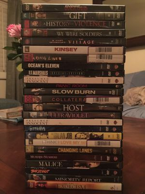 25 DVD's for Sale in Scottsdale, AZ