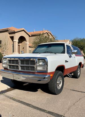 1991 Dodge Ramcharger 318 4x4 for Sale in Peoria, AZ