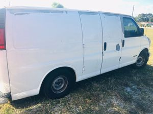 2002 chevy 1500 express van $3200 or 4200 with 100 gallon water tank and 2200psi pressure washer van has New brakes ,new starter,New alternator,New t for Sale in St. Pete Beach, FL