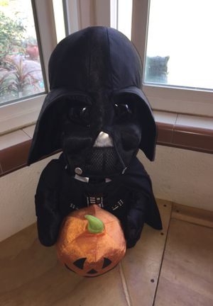 Darth Vader with pumpkin. Halloween for Sale in Fresno, CA
