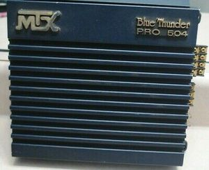 Old school used MTX Blue Thunder Pro 504 amplifier for Sale in Philadelphia, PA