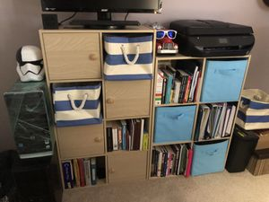 Bookcases / bookshelves birch finish for Sale in Boca Raton, FL