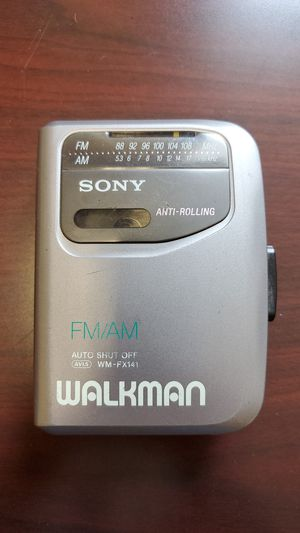 Original Sony Walkman cassette AM/FM + JVC headphones new in box for Sale in Homer Glen, IL