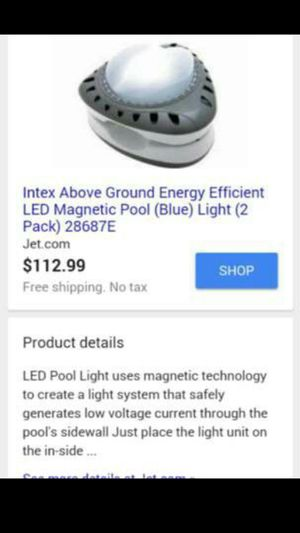 LED magnetic pool light for Sale in San Diego, CA