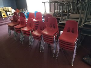 Red Stackable School Chairs for Sale in Atlanta, GA