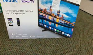 "Brand New Philips ROKU TV 32"" open box w/ warranty TS for Sale in Irving, TX"
