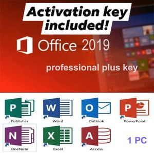 Office 2019 With KEY for Sale in Madera, CA