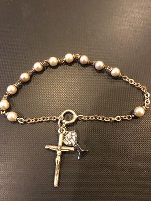 Silver 1St Communion bracelet for Sale in Franklin, TN