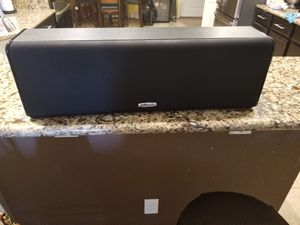 Polk audio CS20 Center channel speaker for Sale in Jacksonville, FL
