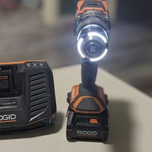 Ridgid Octane Brushless Hammer Drill, 3ah Octane Battery And Fast Charger. No Shipping. FIRM Price! for Sale in Los Angeles, CA
