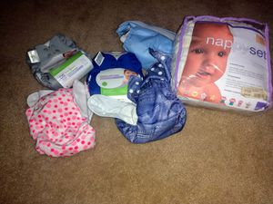 Cloth Diaper set (Never Used) for Sale in Pflugerville, TX