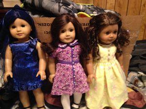 American girl dolls lot all $1OO for Sale in El Monte, CA