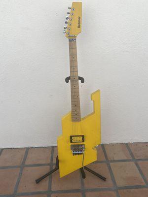 Vintage 1980's Wayne Charvel Kramer Hydra Guitar - Van Halen - Heavy Metal Taxi Yellow for Sale in Marina del Rey, CA