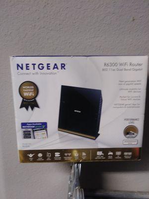 Netgear Wifi Router R6300 for Sale in Elk Grove, CA