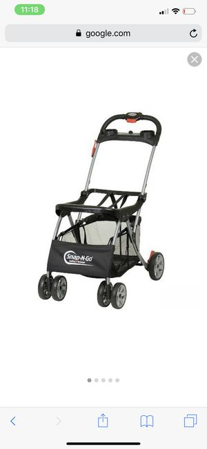 Snap and go stroller for Sale in Palm Beach Gardens, FL