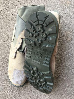 Size 13 Mens Vibram steel toe boots never worn for Sale in Ashburn, VA