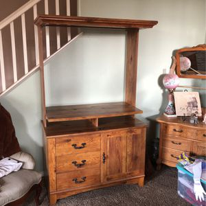 TV/computer Cabinet for Sale in Fontana, CA