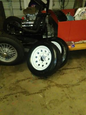 15 inch trailer tires and rims for Sale in Laurens, SC