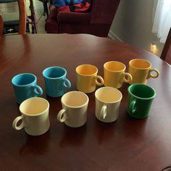 Genuine original 1930s Fiesta ware coffee mugs for Sale in Dunnellon,  FL