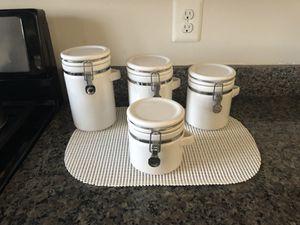 Set Ceramic kitchen containers +bowl for Sale in Manassas Park, VA