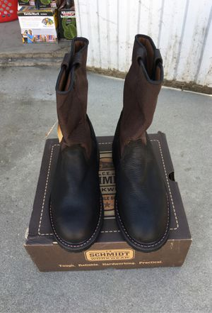 "10"" work boots size 8 1/2 m for Sale in Fresno, CA"