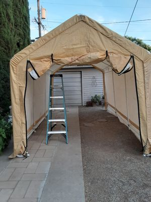 Car port tent cover portable garage for Sale in Fresno, CA
