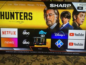 """Sharp 70"""" Smart TV - Excellent Condition-wall Mount included for Sale in Hayward, CA"""