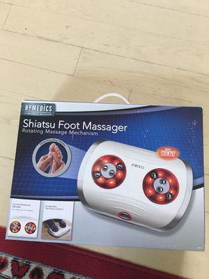 Shiastu foot massager w heat for Sale in Mahwah, NJ