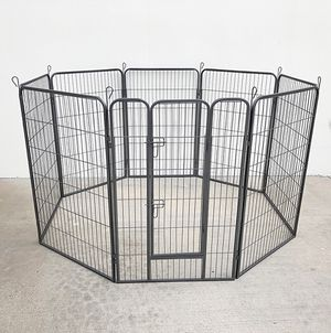 "Brand New $125 Heavy Duty 48"" Tall x 32"" Wide x 8-Panel Pet Playpen Dog Crate Kennel Exercise Cage Fence for Sale in Montebello, CA"